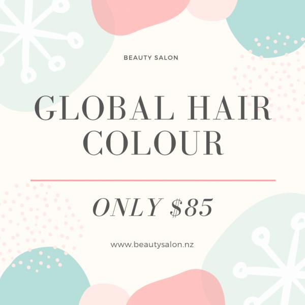 Hair Colour Special Deal Auckland
