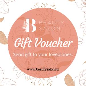 beauty salon gift card