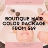hair color deal auckland